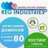 Regind.ru - регистрация доменов и хостинг