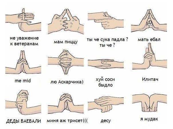 Гей жесты