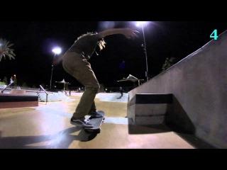 Victoria Ruesga 10 Tricks At Scv Skatepark!!!