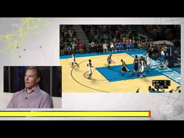 NBA 2K13 Debut Gameplay E3 2012 OKC Thunder Vs. San Antonio Spurs