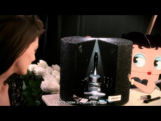 Дарья Вербова и Бетти Буп в рекламном ролике Lancôme