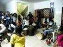 Djembé Dramé - 2010 Senegalreis presentatie - endparty 02 Dakar