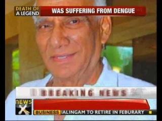 Veteran filmmaker Yash Chopra passes away - NewsX