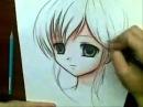 Уроки рисования. рисуем мангу.mp4