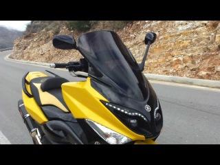 Yamaha T-Max 500 (Fari Led)--(Yoshimura R-77 Carbon Exhaust)