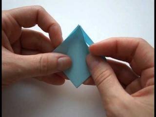 Оригами Домик. Поделка из бумаги