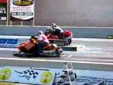 Hayabusa vs Arctic Cat F7!! Great Lakes Dragaway Horsepower X .Com МОТОСАЛОН БАЙК ЛЕНД