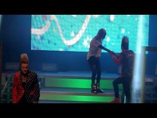 Jedward Chatting + Singing 'Everyday Superstar' (With Tara Reid) Killarney 7/8/12