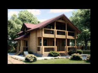 Деревянные дома, бани из бруса и бревна. Интерьер!