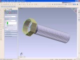 SolidWorks Tutorial, How to Draw a Bolt
