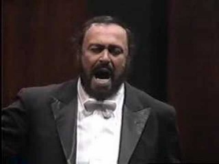 Luciano Pavarotti- Recondita Armonia Опера Tosca, композитор Giacomo Puccini - Ария Марио Каварадосси