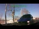 Лобовое столкновение на светофоре. После 1-ой минуты.