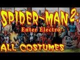 [доп.] Spider-man 2: Enter Electro (2001) все костюмы