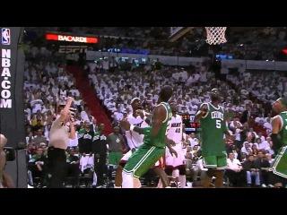 LeBron James 31 points (sick alley oop) vs Celtics full highlights GM7 ECF NBA Finals 2012.06.09