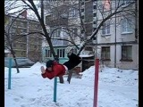 Winter Street Workout in rubtcovsk