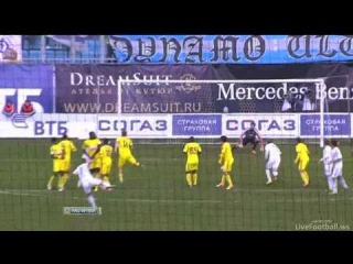 Динамо М - Анжи 0:2 Обзор матча