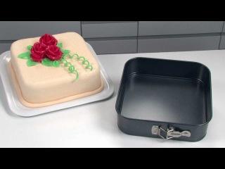 Форма для торта раскладная квадратная TESCOMA DELÍCIA 24x24 см