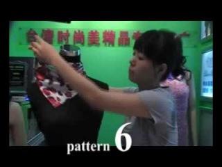 Как завязывать чудо-шарфик 2