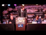ADRIEN BRONER v GAVIN REES - FULL AND UNCUT PRESS CONFERNCE IN NEW YORK CITY / iFILM LONDON