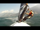 Gopro Lago di Garda windsurf catapult Jump.(il nonno)mpg