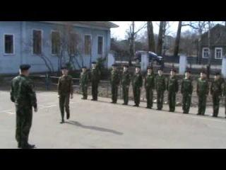 Строевая подготовка кадет, г.Великий Устюг.MPG