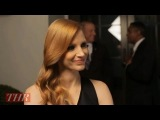 Jessica Chastain on Awards Season Madness, Admiration for Cristoph Waltz