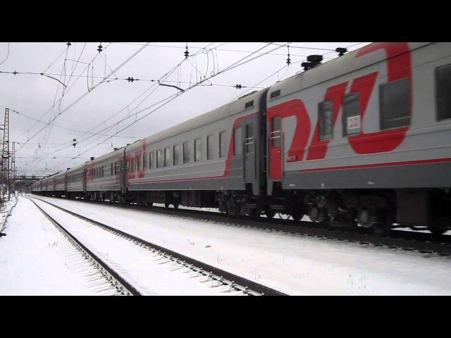 ЭП2К-106 с поздом №067 Абакан - Москва