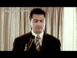 Самый вероятный кандидат в президенты Мексики говорит на английском (Мутко отдыхает)))))