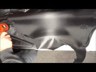 DIY How to Wrap a Car in 3D Carbon Fibre Bubble Free Vinyl - Car Wrap Direct Ireland