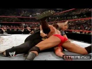Mick Foley Vs. Randy Orton Highlights - HD Backlash 2004