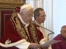 Benediktas XVI: atsisakau Romos vyskupo tarnystės