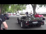 LOUD SUPERCAR ACCELERATIONS & REVS - Enzos, MC12, Aventadors, SV, Veyrons, 458s, Performante
