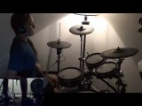Dimmu Borgir - The Serpentine Offering (drum cover by Tamara)