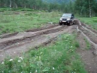 УАЗ  ПАТРИОТ    Дорога  на  Ивановские озёра  Хакасия