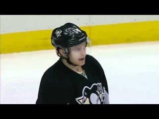 Sergei Bobrovsky Robs Crosby! - NHL 1/4/12