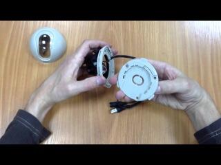 St-1001, цветная купольная камера наблюдения