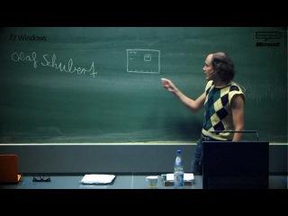 Gastvortrag an der TU München: Olaf Schubert erklärt das Internet | Microsoft