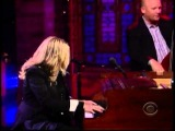 Diana Krall Dec 2012 performs Glad Rag Doll on the Late Show