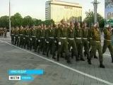 В Краснодаре готовятся к празднованию Дня Победы (Генеральная репетиция)