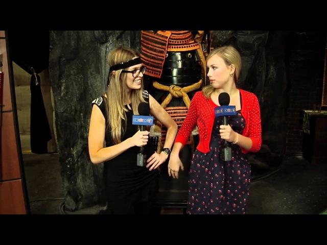Gracie Dzinney Talks About Her 'Supah Ninjas!' Ninja Outfit