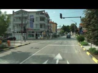 Дорога к МДЦ 'Чавдар' (Болгария) от с Бяла через г. Обзор.