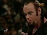 Undertaker Intimidates Debra...Ken Shamrock Attacks 4/12/1999