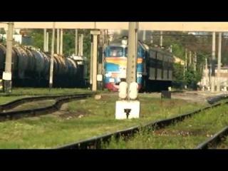 Поезд Одесса-Кишинев на ст. Тирасполь