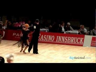 Ferdinando Iannaccone - Yulia Musikhina, Austrian Open 2012 WDC AL European Cup 2. round - chachacha
