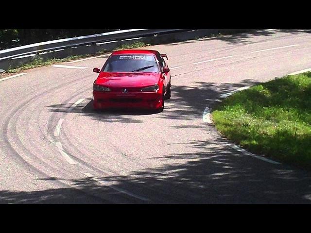 Course de Cote de Turckheim Trois-Epis 2011 Peugeot 406 BTCC