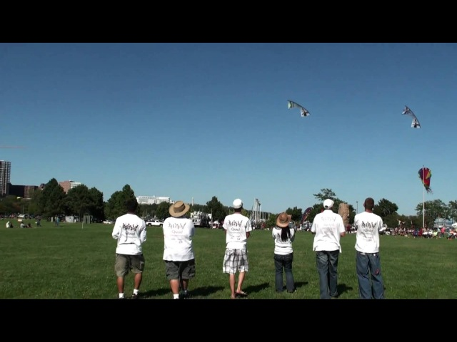 IQuad performs at the Frank Mots Int'l Kite Festival in Milwaukee