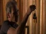 Billy Bob Thornton: Bad Santa - trips out on alarm clock lol