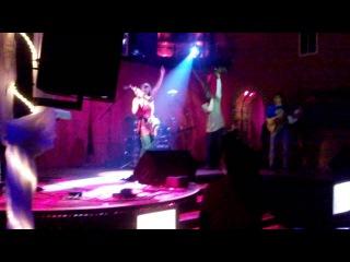 Saskia Laroo. Lviv. Picasso-Club.16-02-12. -3 reggae