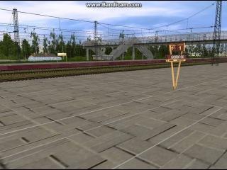 Проследование станции Бологое поездом 161А Сапсан.