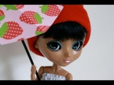 How  to Make an Opened Doll Umbrella Out of Paper